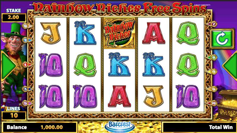 Rainbow Riches Online Slot Review