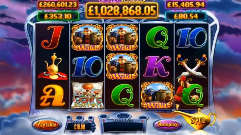Genie Jackpots Online Slot Review