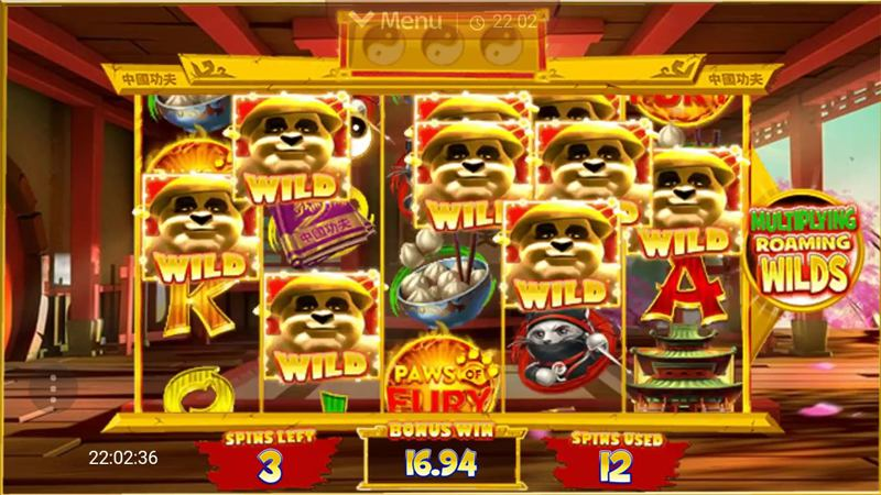 Paws of Fury Online Slot Review