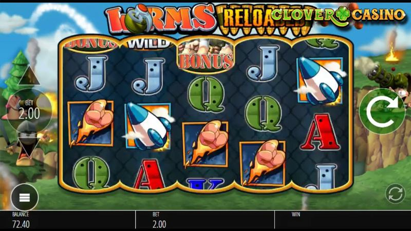 Worms Reloaded Online Slot Review