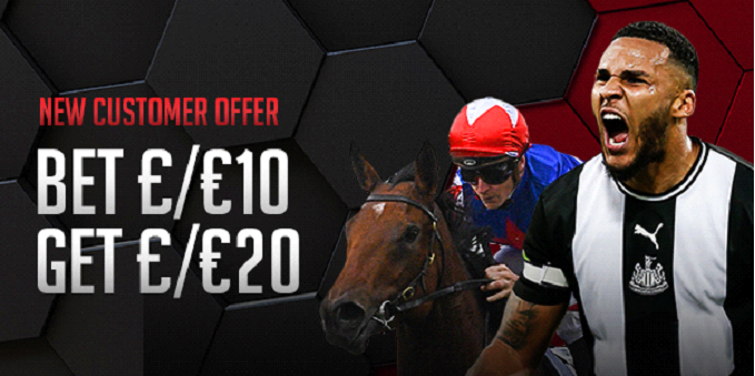 Free Bets at MansionBet worth £20