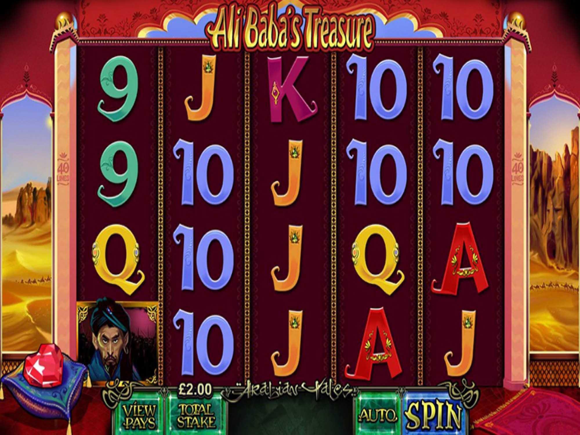 Ali Baba's Treasure Slot Review